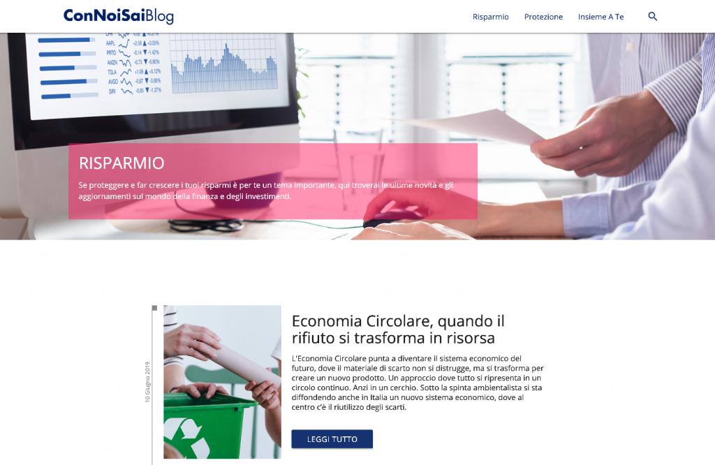 Risparmio - Con Noi Sai Blog, il blog di formazione e informazione